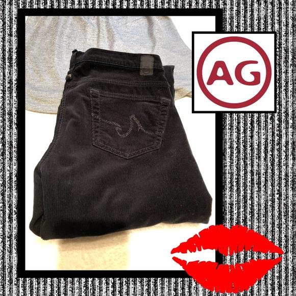 Ag Adriano Goldschmied Denim - 💋AG The KISS black cords💋